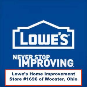 Lowe's Sponsor